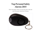 Top Personal Safety Alarms 2015
