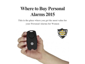 Where to Buy Personal Alarms 2015