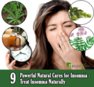 9 Powerful Natural Cures for Insomnia - Treat Insomnia Naturally