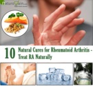 10 Powerful Natural Cures for Rheumatoid Arthritis - Treat RA Naturally