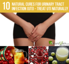 10 Effective Natural Cures for Urinary Tract Infection (UTI) - Treat UTI Naturally