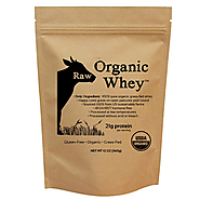 Raw Organic Whey Protein Powder Review - Peakrite