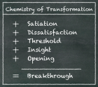 Making the Impossible Possible: The Five Elements of a Breakthrough