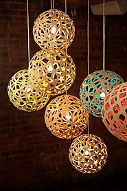 The Glow-in-the-dark Coral Sculptural Pendant Lights