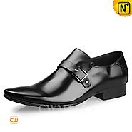CWMALLS® Italian Leather Monk Strap Loafers CW716236