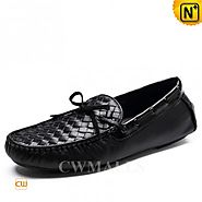 CWMALLS® Italian Woven Leather Loafer CW706160