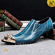 CWMALLS® Designer Embossed Leather Dress Loafers CW707006