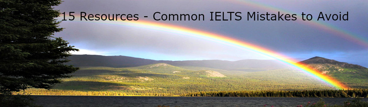 Headline for 15 Resources - Common IELTS Mistakes to Avoid