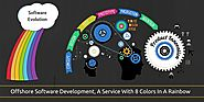 Offshore Software Development, A Service With 8 Colors In A Rainbow