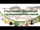Home Remedies for Insomnia that Cure Sleeplessness Problem Naturally