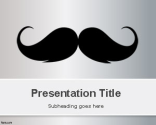 Moustache PowerPoint Template | Free Powerpoint Templates