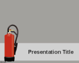 Fire Extinguisher PowerPoint Template | Free Powerpoint Templates