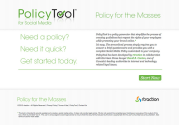 PolicyTool for Social Media