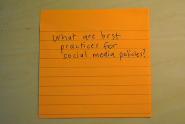 Social Media Policy Best Practices: Trust Is Cheaper Than Control