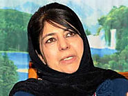 Mehbooba lashes out at those saying 'go to Pakistan'