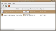 GWGET - Download Manager for GNOME2