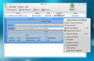 KDE - KGet - Download Manager