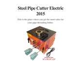 Steel Pipe Cutter Electric 2015