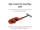 Pipe Cutter for Steel Pipe 2015