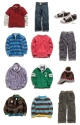 Layering clothes for kids