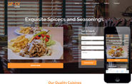 Spicy Cuisine a Hotel Category Flat Bootstrap Responsive Web Template by w3layouts
