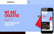 SCreative a Corporate Business Flat Responsive Web Template by w3layouts