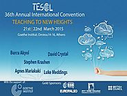 March | 2015 | Marisa Constantinides 36th TESOL Greece International Convention