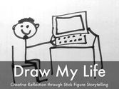 HaikuDeck slides: Draw My Life: Creative Reflection through Stick Figure Storytelling