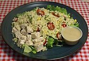 Summer Couscous Chicken Salad | Monthly Special Box Lunch| Ingallina's Box Lunch Los Angeles