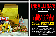 FREE box lunch for minimum of 20 dollars