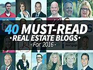 40 Top Real Estate Blogs For 2016