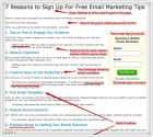 How to Quadruple Your Email Opt In Rate