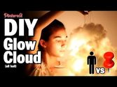DIY Glow Cloud, MAN VS. PIN #7