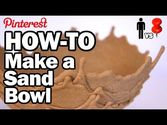 How-To Make a Sand Bowl - Man Vs. Pin #17