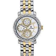 Get Titan Chronograph Ladies Watch Online at Lowest Rates