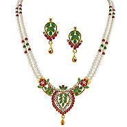 Indian Pearl Jewellery Designs & Accessories Online