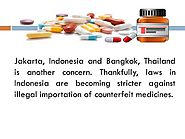Knowing the Extent of Counterfeit Medicines in Asia