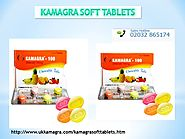 Kamagra soft tablets: For unfolded serect of love night