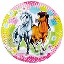 Charming Horses Party Plates