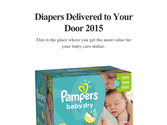 Diapers Delivered to Your Door 2015