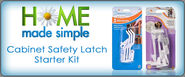 Get Free Cabinet Safety Latch Starter Kit