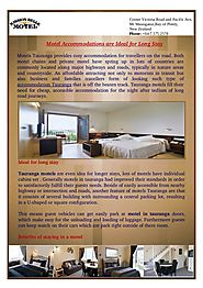 Ideal for Long Stay Luxury Accommodations Motel