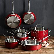 Red Kitchen Cookware Sets - Kitchen Things