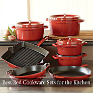 Red Cookware Sets for the Kitchen