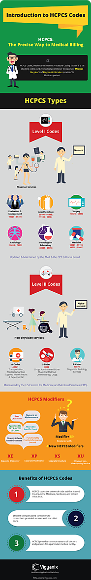 Introduction to HCPCS Codes [Infographic]