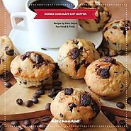 Double chocolate Chip Muffins by Hina Gujral