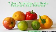 7 Best Vitamins for Brain Function and Memory