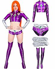 Top 10 Best Starfire Cosplay Costumes Reviews 2019-2020