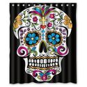 Top 10 Best Sugar Skull Shower Curtain Designs - Reviews (with image) · showercurtain