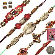 A Wide Range of Rakhi Sets Online at Affordable Price